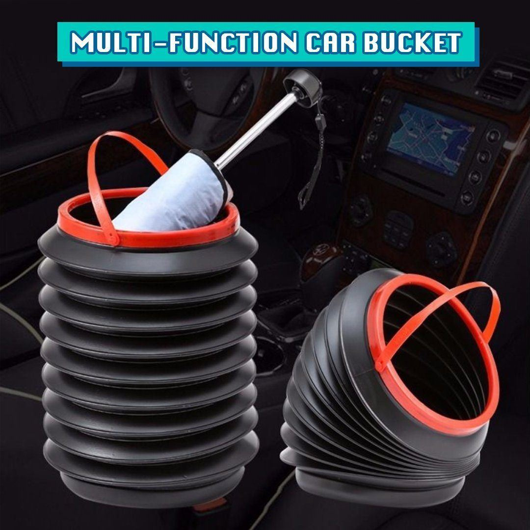 Multi-Functional Collapsible Bucket