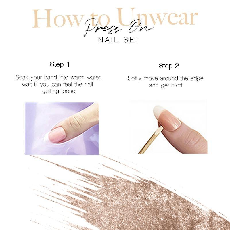 Magic Press On Nail Set
