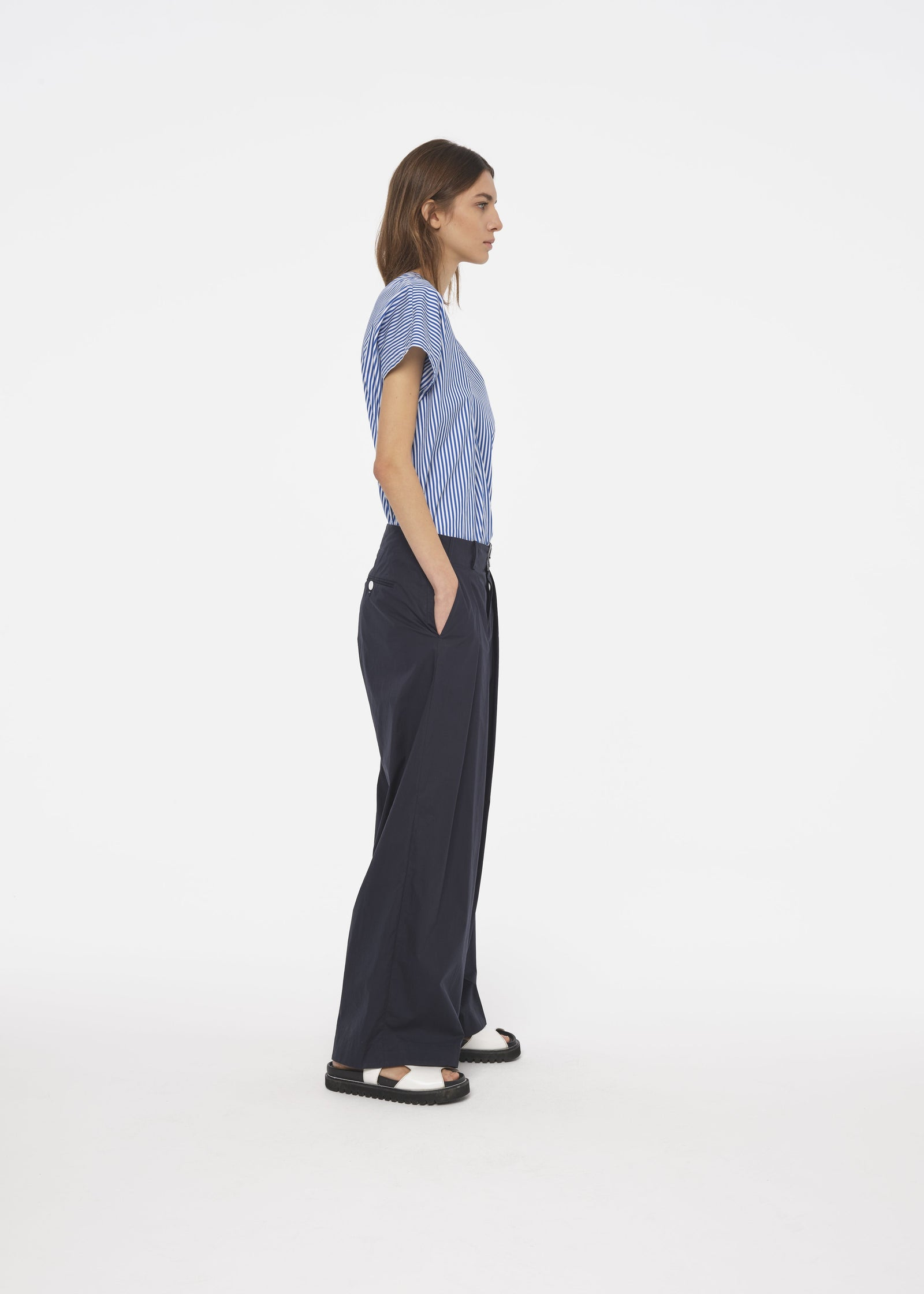 TECHNICAL COTTON TROUSERS