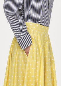 POLKA DOTS LONG SKIRT