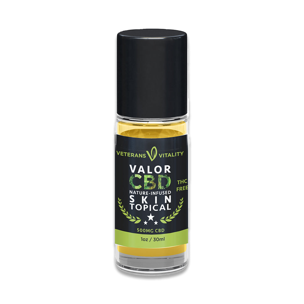 Nature-Infused Skin Topical Roll-On (500MG CBD)