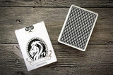 White Lions Tour Playing Cards - Black Reverse