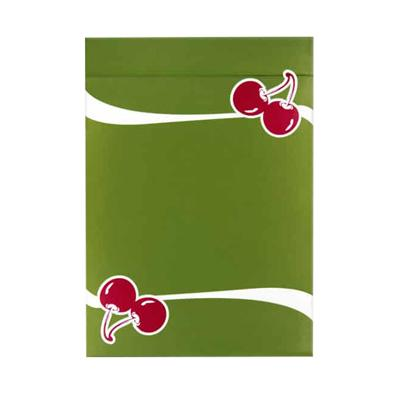 Cherry Casino Playing Cards - Sahara Green