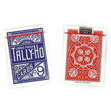 Tally Ho Playing Cards - Fan Back - Red