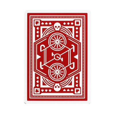 Wheels Playing Cards - Red