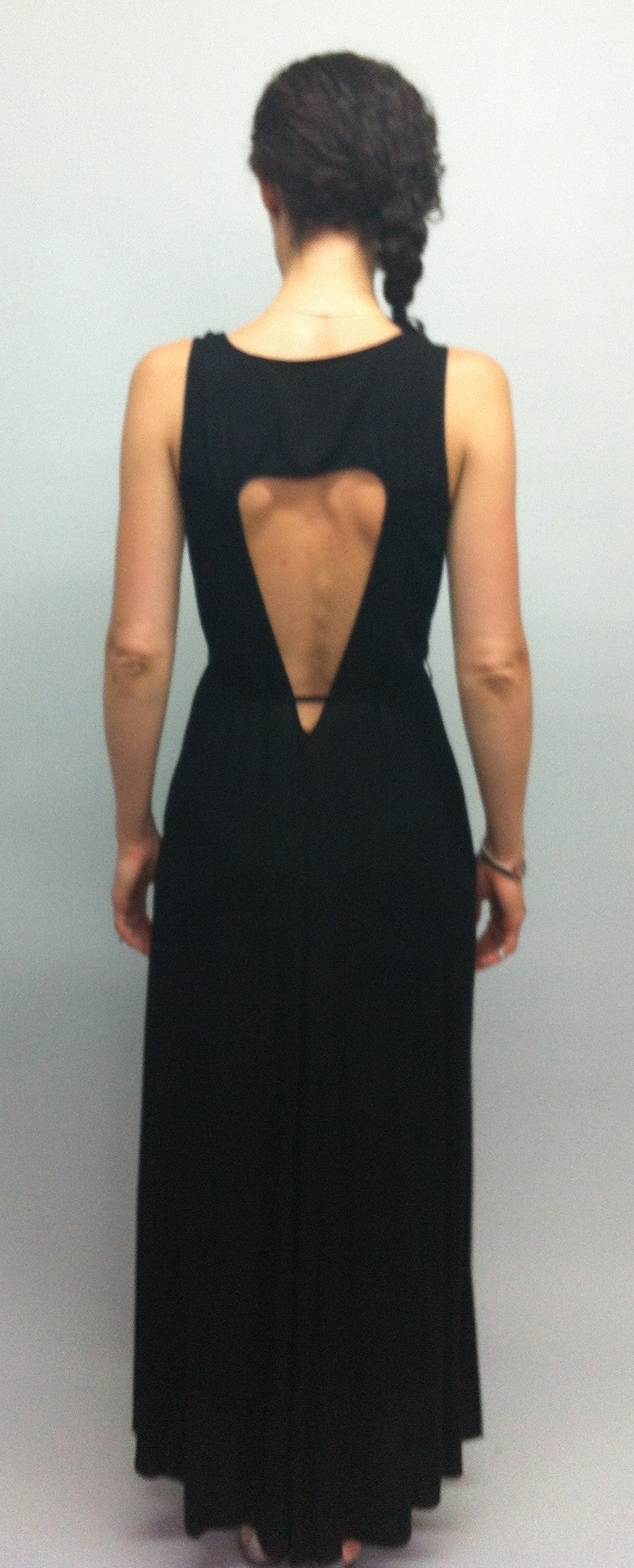 Cut-out Back Maxi