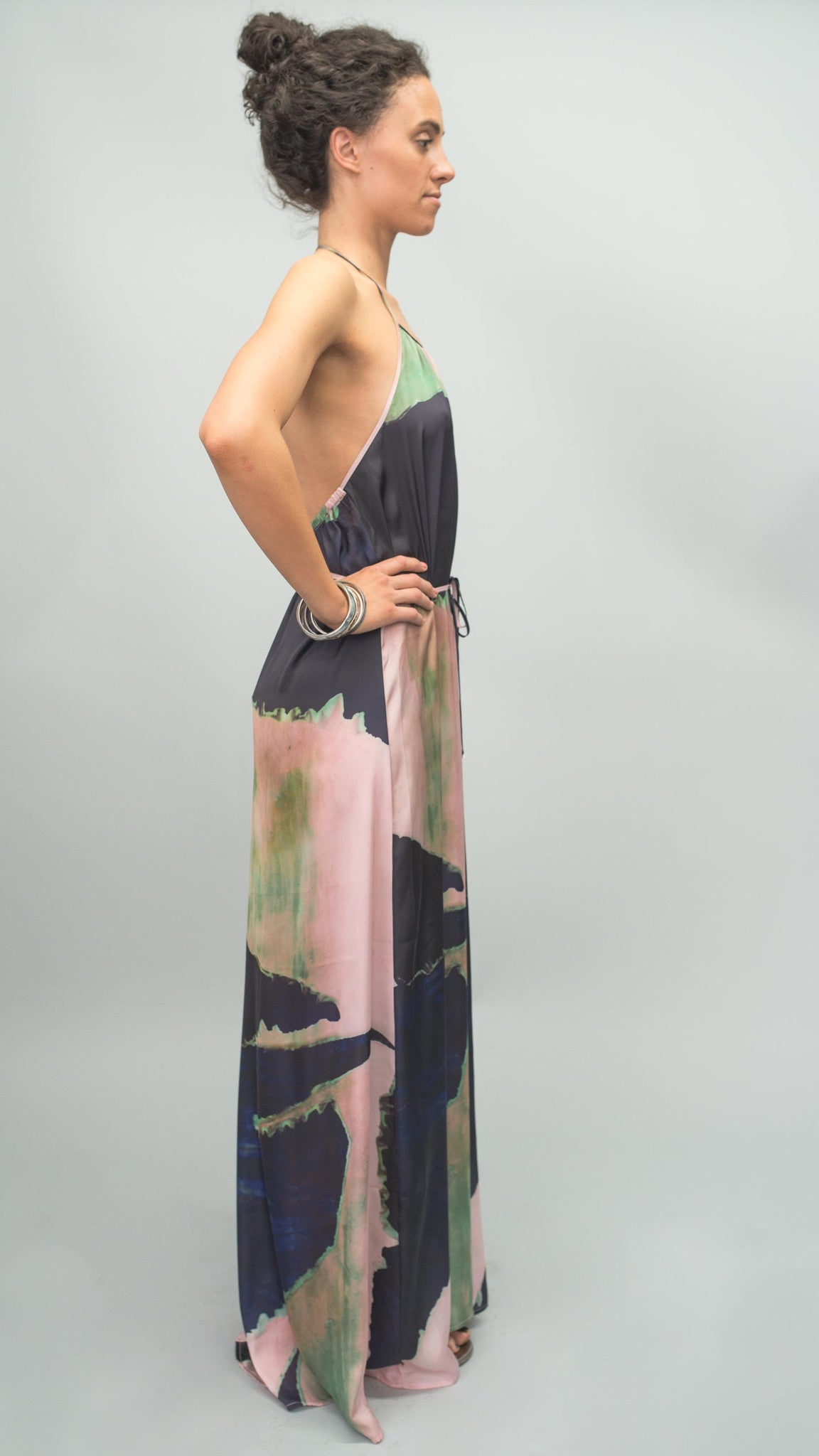 BrookeColeman Origami Maxi Dress