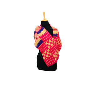 Handwoven Kente Shawl
