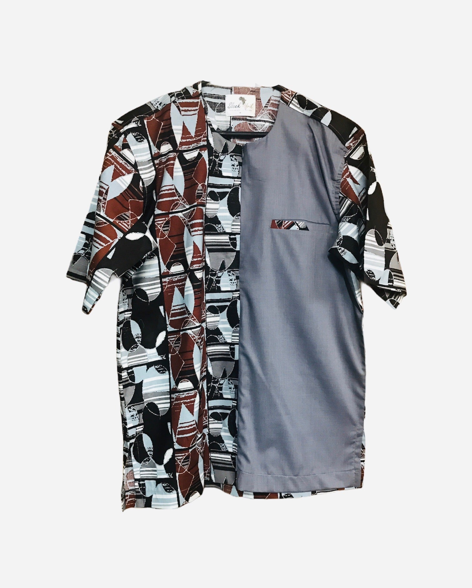 Afro Men's woodin shirt