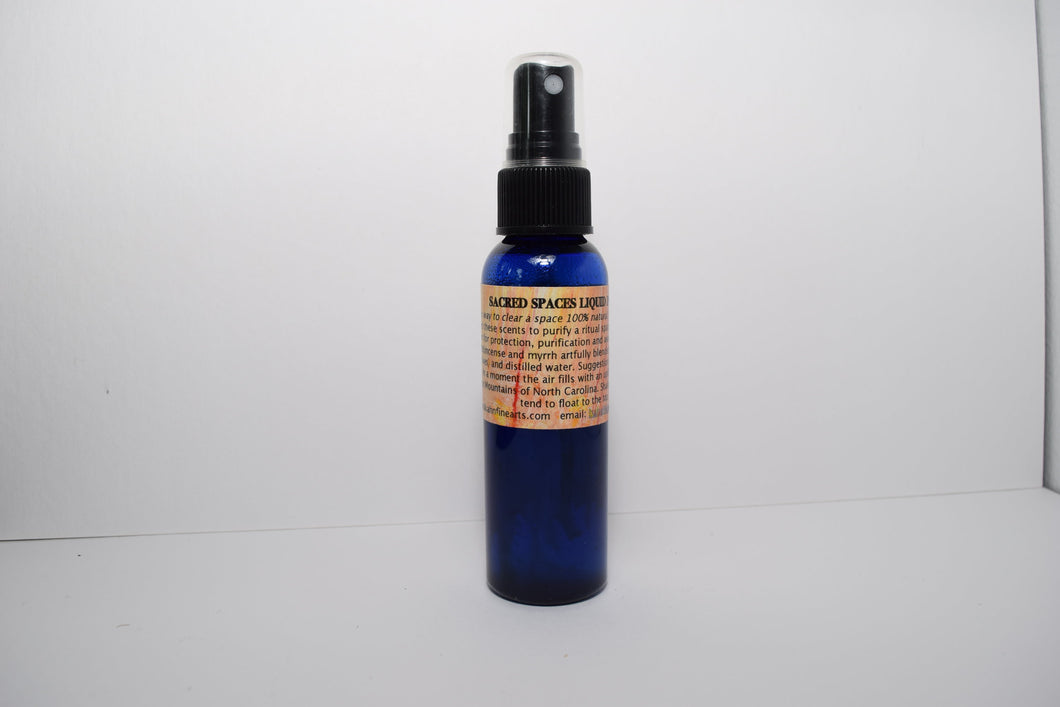 Sacred Spaces Liquid Incense Cleansing Spray