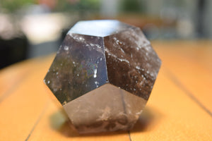 Smokey Quartz Icosahedron Large