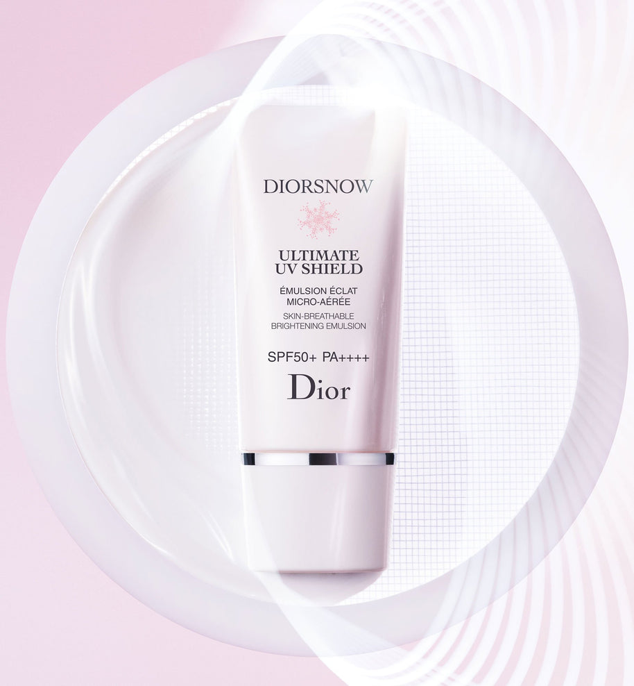 DIORSNOW - ULTIMATE UV SHIELD: SKIN-BREATHABLE BRIGHTENING EMULSION - SPF 50+ PA++++