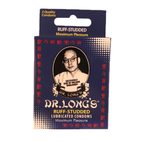 Dr Long's Ruff-Studded Condoms