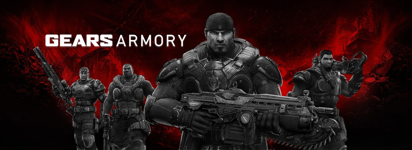 Gears Armory collection banner