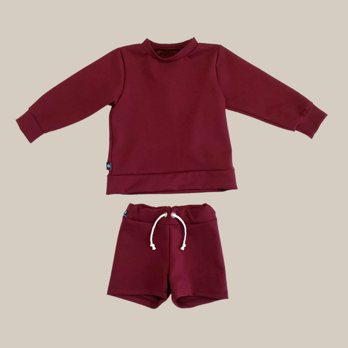 Mini Shorts Bourgogne
