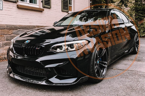 DI-Performance Forged Carbon Front Lippe für M2