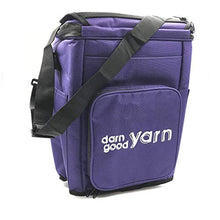 Load image into Gallery viewer, Darn Good Yarn | Knitting and Crochet Yarn Storage Organizer with Cover and Inner Divider for Projects, Handy and Compact, The Bag with Multiple Pockets