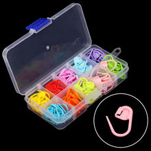Load image into Gallery viewer, 120Pcs/Box 10 Colors Knitting Crochet Stitch Markers