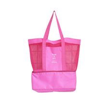 Load image into Gallery viewer, Women's Sports Mesh Tote Bag
