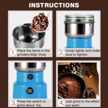 Load image into Gallery viewer, Multifunction Smash Machine Electric Coffee Bean/Nut/Spice Grinder