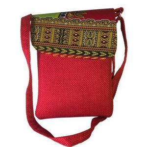 Shoulder khanga Bag and CrossBody Handmade African Laptop Bag