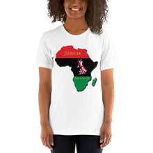 Load image into Gallery viewer, African born in the UK - Short-Sleeve Unisex T-Shirt