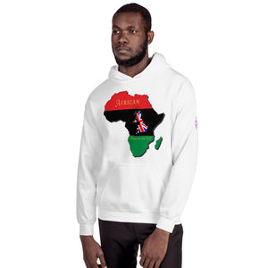 African born in the UK - Unisex Hoodie