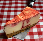 Slice Strawberry Cheesecake