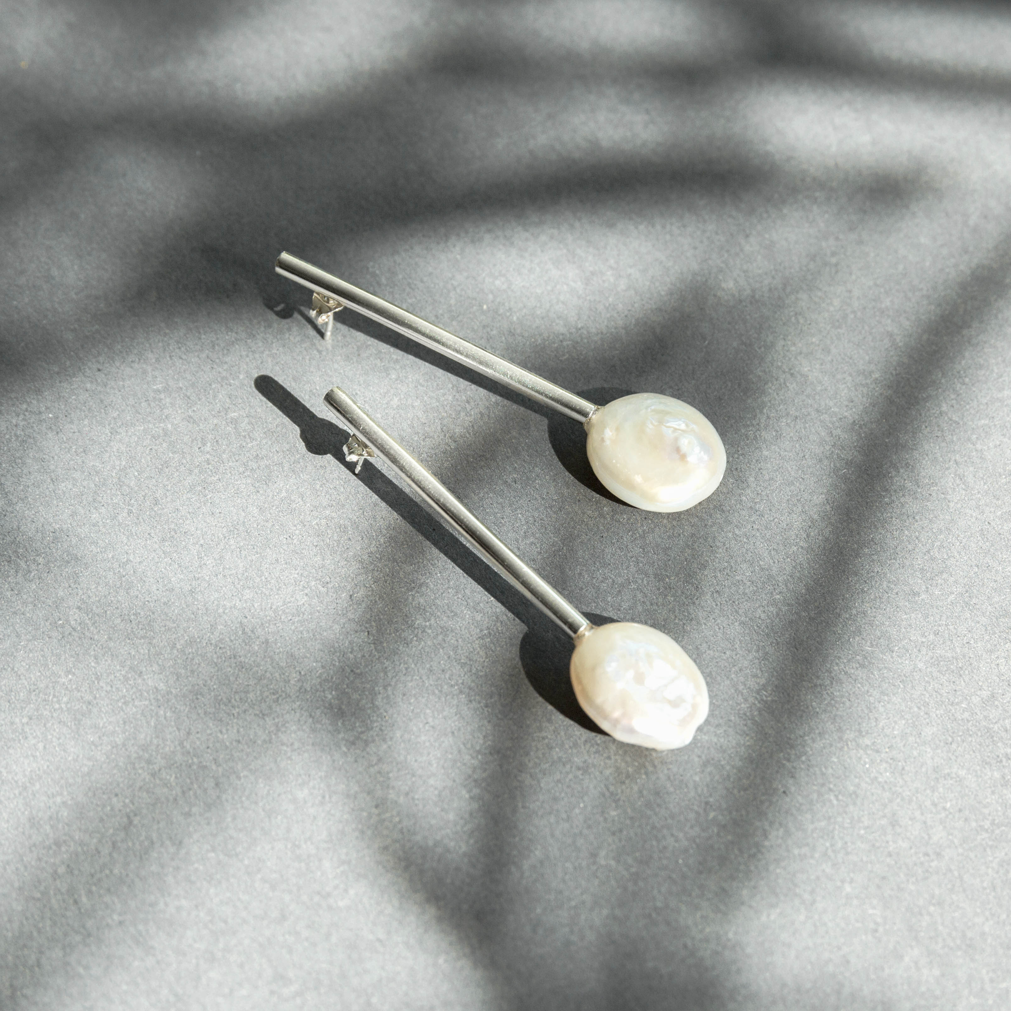 Sigrid Kuusk, estonian design, silver, Hisotrie. Pearl.