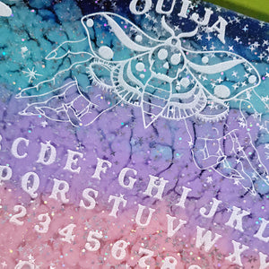 Spring! Pastel Twilight Sky Ouija Board and Planchette Home Decor