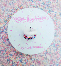 Load image into Gallery viewer, Sundae Funday Smooth Ring Set in Vanilla Cream