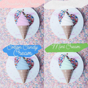 Sundae Funday I love Ice Cream Brooch