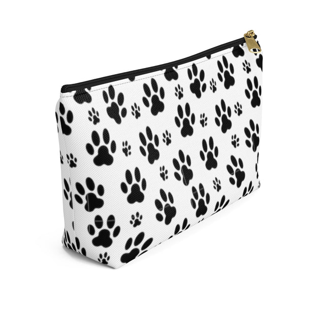 Paw Prints Accessory Pouch w T-bottom