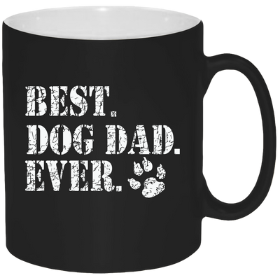 Best Dog Dad Ever Mug - Coffee Mug 11oz - {Laser engraved}.