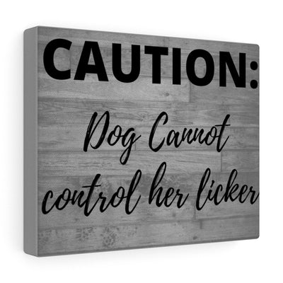 Caution Canvas.