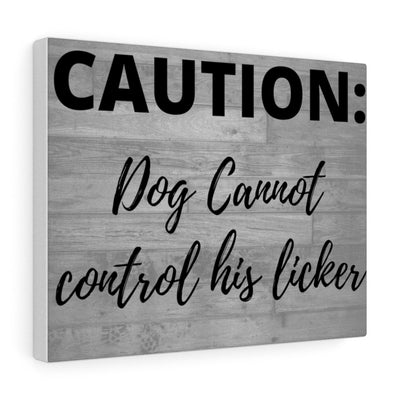 Caution Canvas (his).