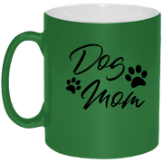 Dog Mom Mug - Coffee Mug 11oz - {Laser engraved}.
