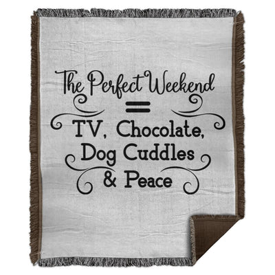 The Perfect Weekend TV WB56 Woven Blanket - 50x60.