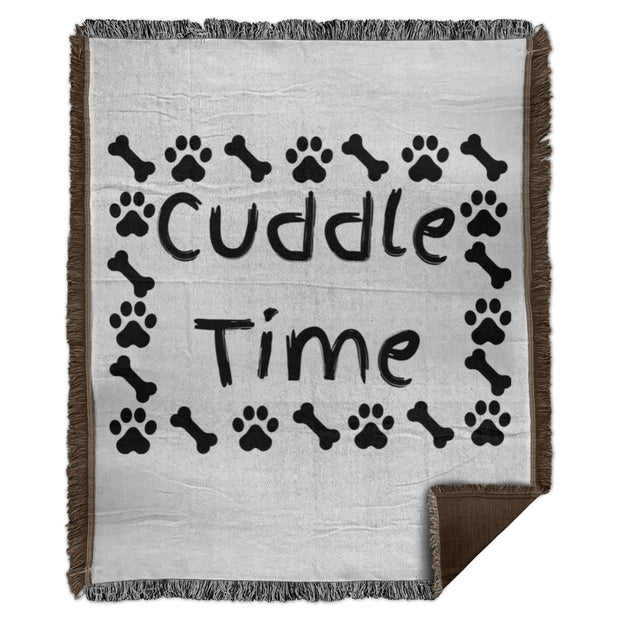Cuddle Time WB56 Woven Blanket - 50x60.