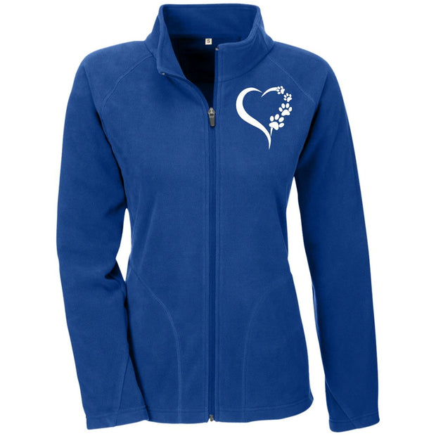 Heart and Paws Ladies' Microfleece.
