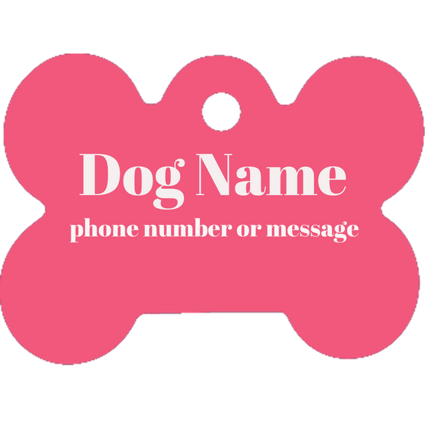 Pet tag - Bone Shape