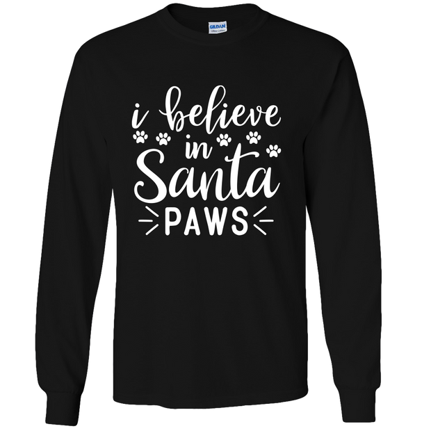 I Believe Adult Long Sleeve Tee.