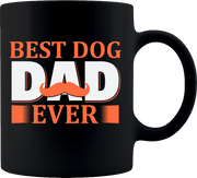 Best Dog Dad Mug - Coffee Mug 11oz.
