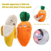1pc Plush Squeaky Dog Toys.