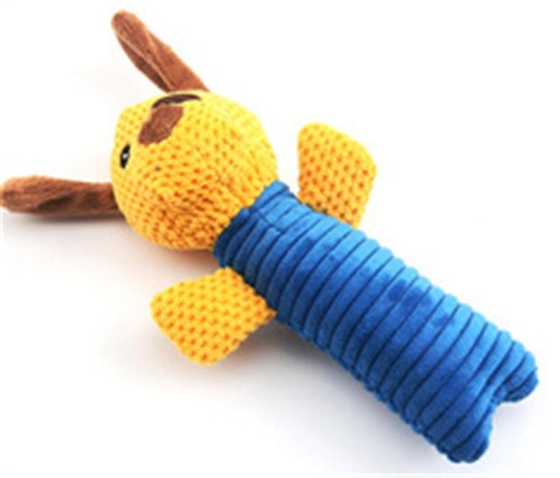1pc Plush Bite Resistant Dog Chew Toy.