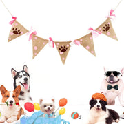 Decoration Bunting Banner -  Reusable Dog Birthday Supplies.