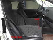 2 in 1 Waterproof Anti-slip Front Car Seat Cover/Pet Car Carrier