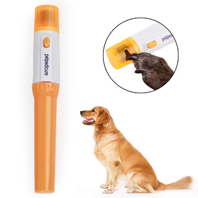 Portable Electric Painless Dog Nail Grinder File Kit.