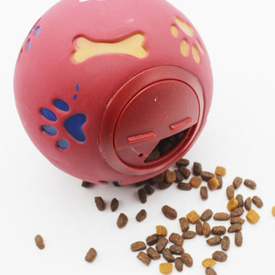 Dogs Rubber Interactive Food Ball.