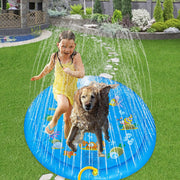 Splash Sprinkler Pad for Summer.